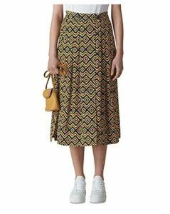 Whistles Geo Print Wrap Skirt