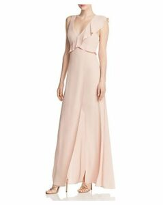 Bcbgmaxazria Ruffled Georgette Gown - 100% Exclusive