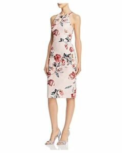 Black Halo Montego Floral Sheath Dress