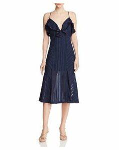 Finders Keepers Soraya Tonal-Stripe Dress