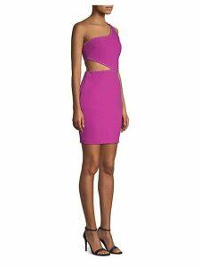 Portia One-Shoulder Mini Dress