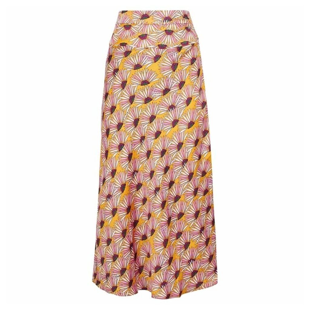 Free People Normani Floral-print Midi Skirt