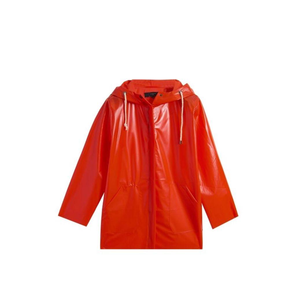 On Parle De Vous Transparent Raincoat