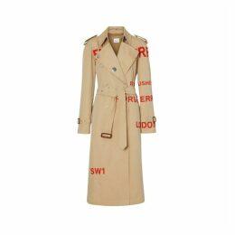 Burberry Horseferry Print Cotton Gabardine Trench Coat