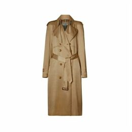 Burberry Silk Wrap Trench Coat