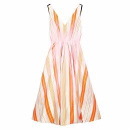 Roksanda Ravena Striped Satin Dress