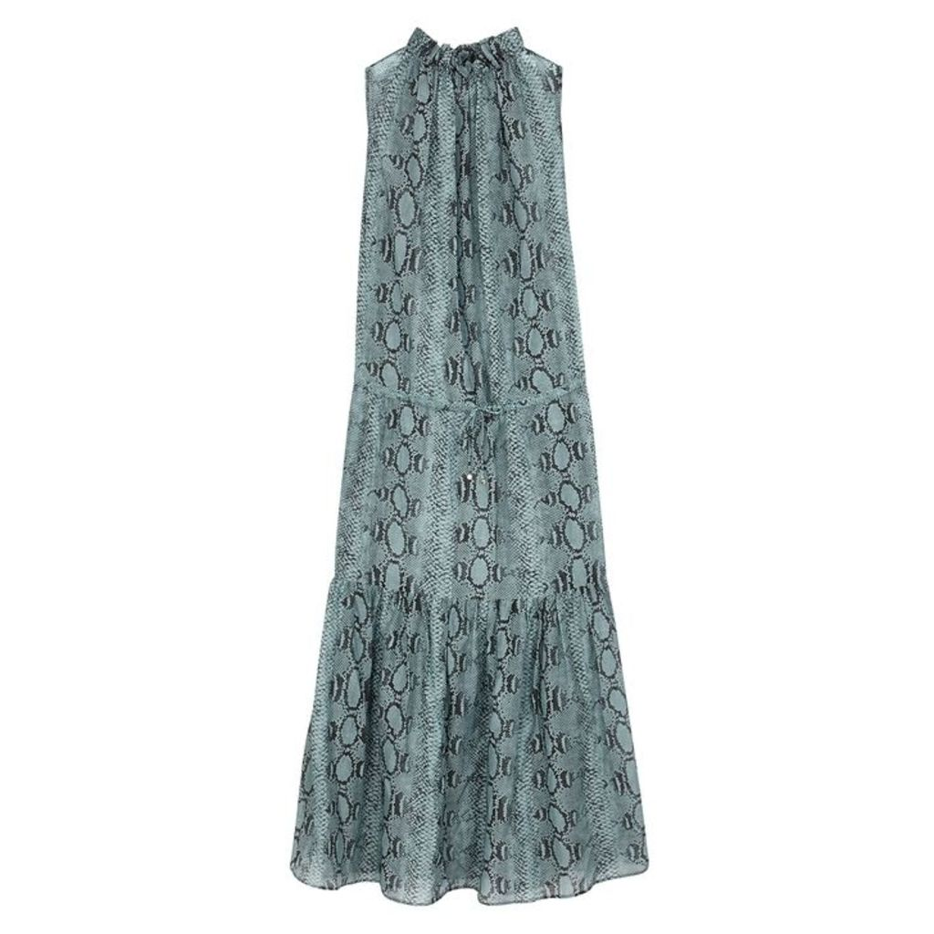 Stella McCartney Timeless Printed Cotton-blend Maxi Dress