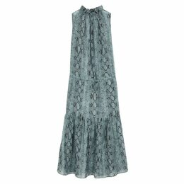 Stella McCartney Timeless Printed Cotton-blend Maxi Dress