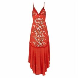 Free People Paradise Floral-print Maxi Dress