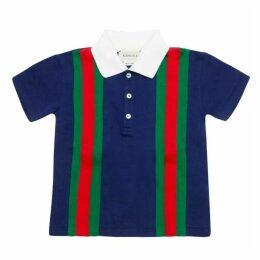 Gucci Cotton Striped Polo