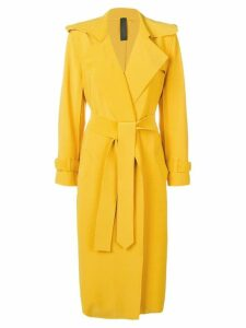 Norma Kamali robe coat - Yellow