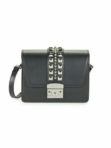 Benedicte Studded Leather Shoulder Bag