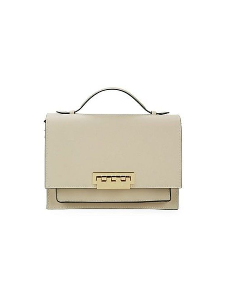 Eartha Accordian Leather Shoulder Bag