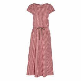 Nissa - Asymmetrical Plaid Dress