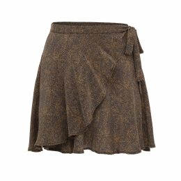 Berriblue - Chips Of Knowledge Large Silk Scarf