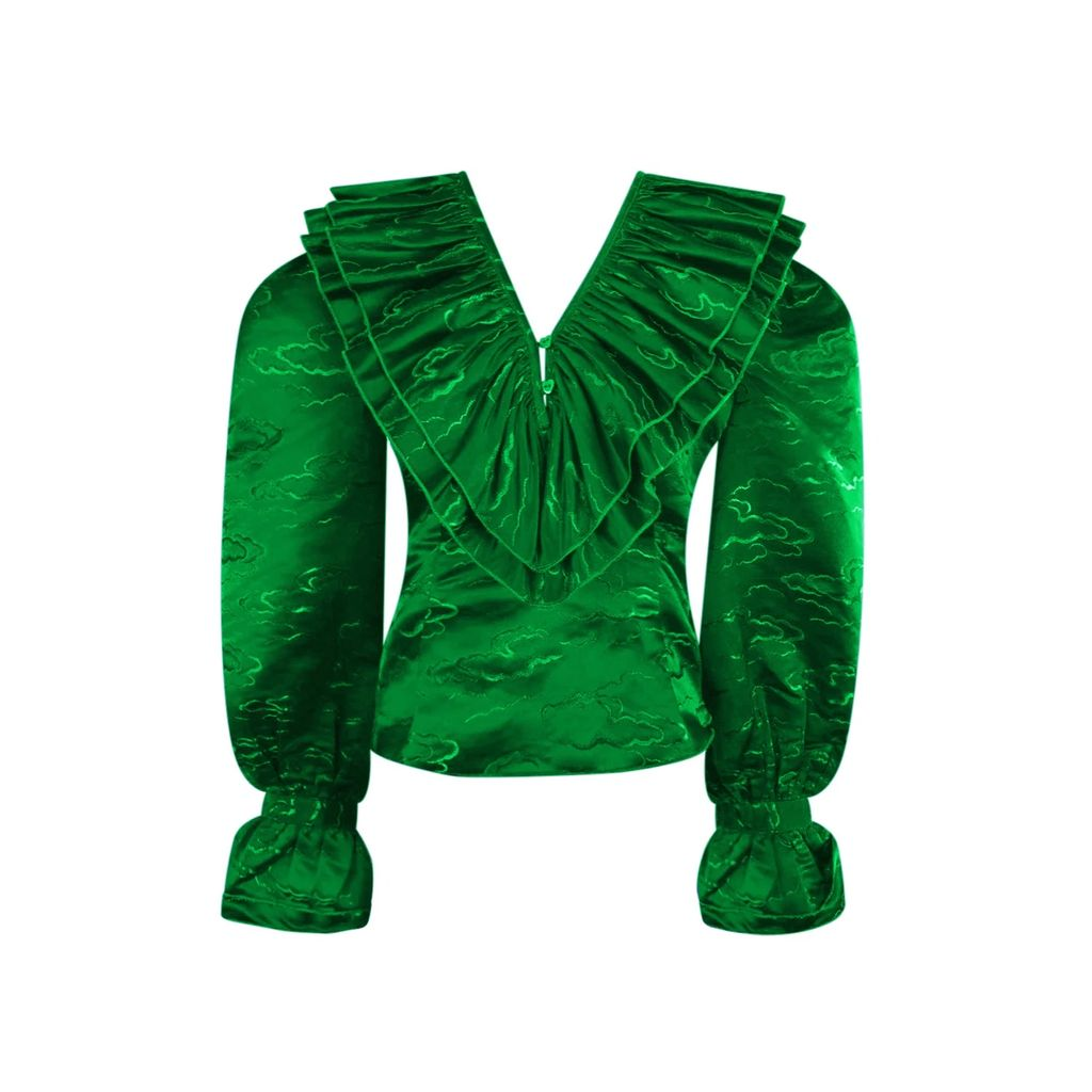 PAISIE - Sleeveless Striped Jacket Dress (With Self Belt) In Dusty Pink & White