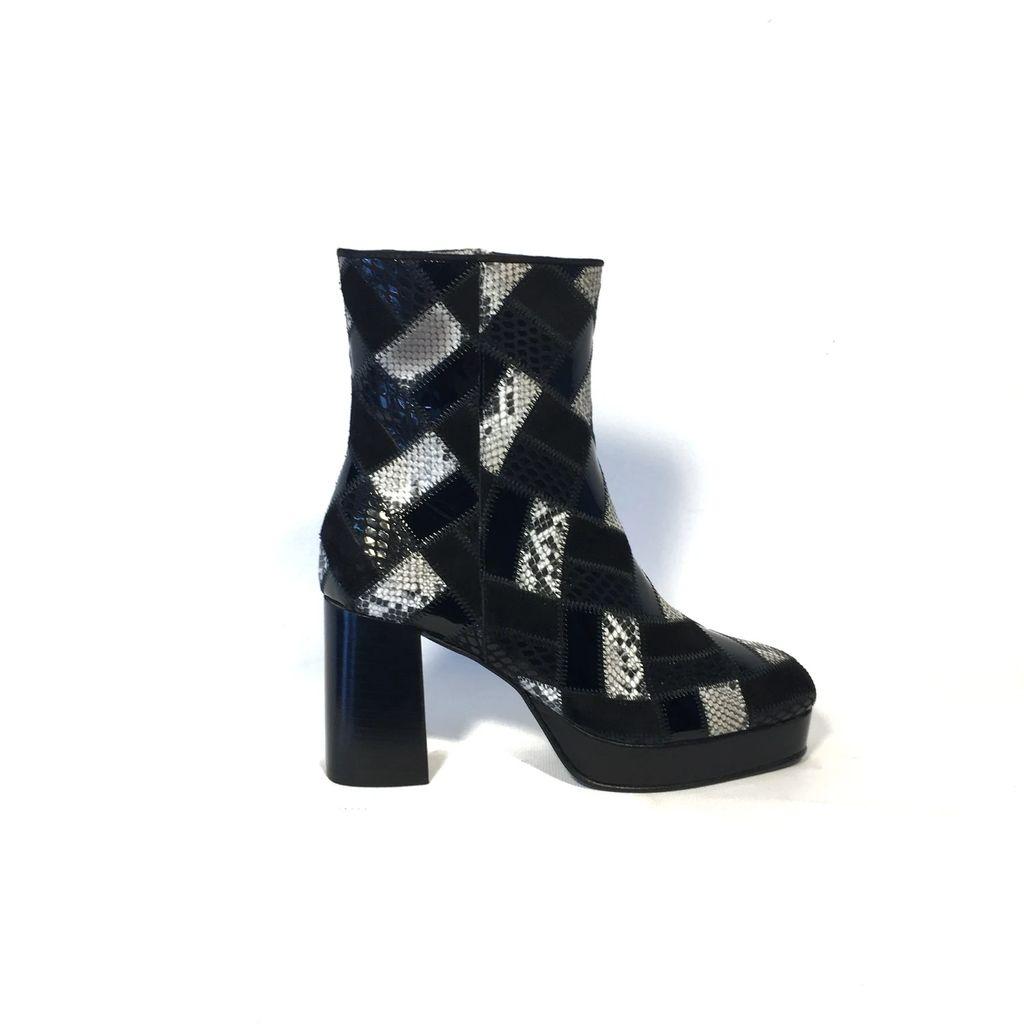 Mykilim - Belt Bag Bicolor Edition Burgundy & Nude