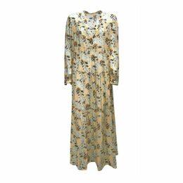 Feel me fab - Belmare Dress In Cotton & Silk Salmon Virgin Leaf