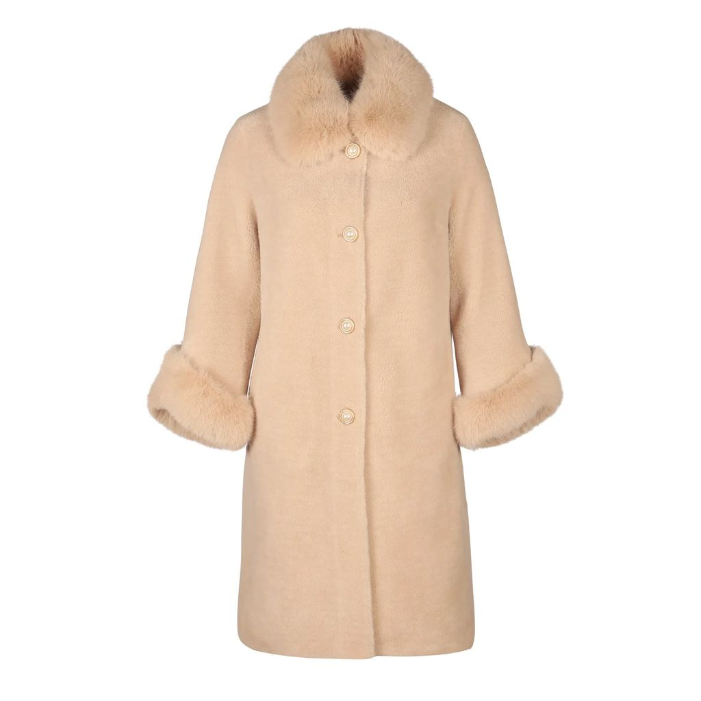 blonde gone rogue - Diagonal Sustainable Top In Green