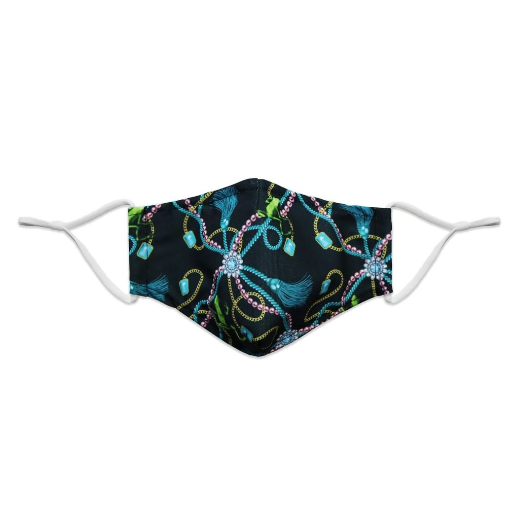 PAISIE - Sleeveless Striped Jacket Dress With Self Belt In Pastel Blue & White
