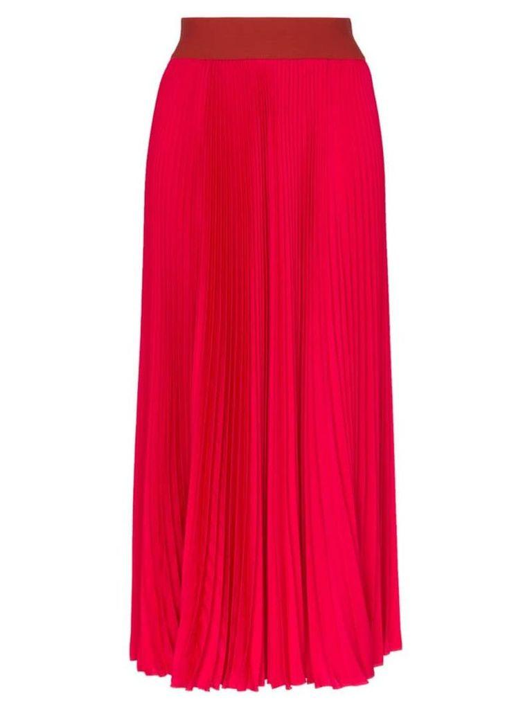 Poiret High-waisted pleated skirt - Pink