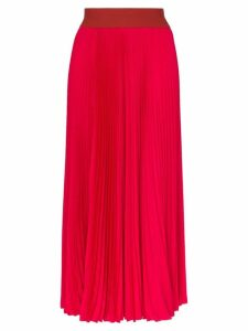 Poiret High-waisted pleated skirt - Pink