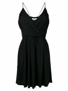 MSGM spaghetti straps dress - Black