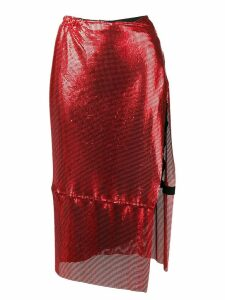Poster Girl Syphera mesh skirt - Red