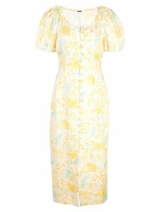 Cult Gaia charlotte dress - Yellow