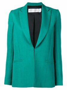 Victoria Victoria Beckham straight-fit blazer - Green