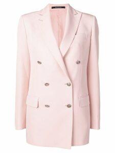 Tagliatore double-breasted blazer - Pink