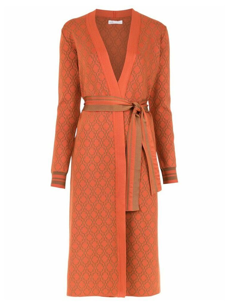 Nk knitted trencho coat - Orange