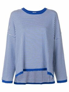 P.A.R.O.S.H. asymmetric hem T-shirt - Blue