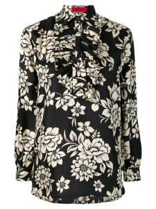 The Gigi floral print shirt - Black