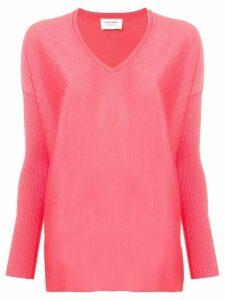 Snobby Sheep v-neck jumper - Pink