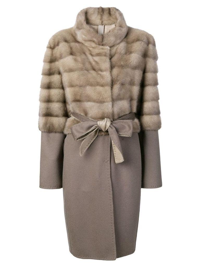 Liska LISKA 292942MA999D01 SILVERBLUE Furs & Skins->Mink Fur -