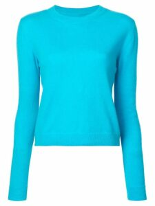 The Elder Statesman crew neck sweater - Blue