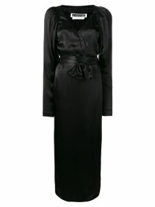 Rotate wrap dress - Black