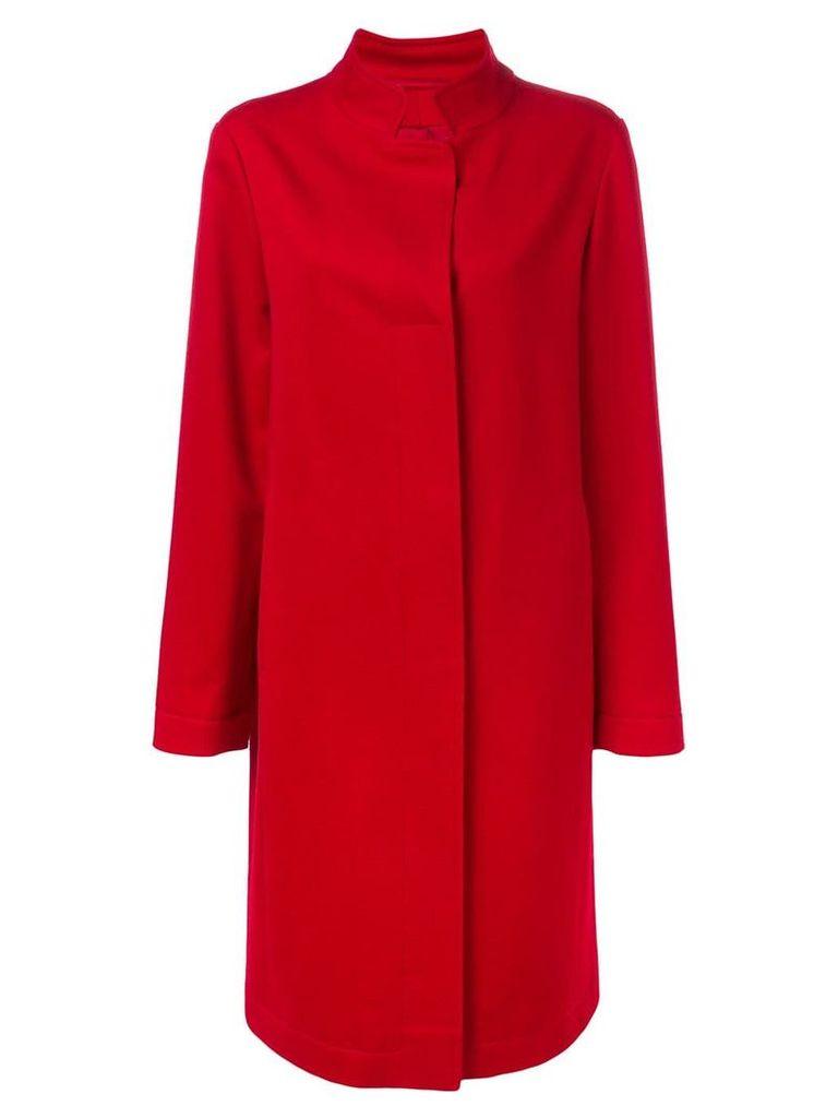 Liska Yarden long coat - Red