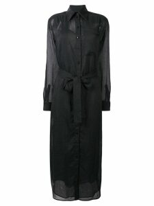 Victoria Victoria Beckham tie-waist dress - Black