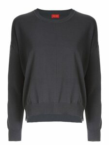 Des Prés relaxed long sleeve jumper - Grey