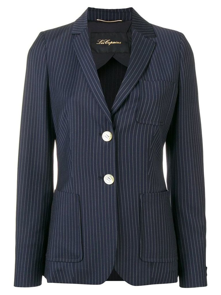 Les Copains single breasted blazer - Blue