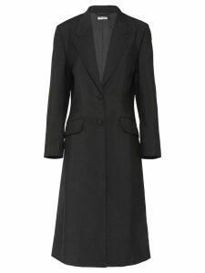 Miu Miu single breasted coat - Black