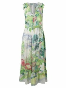 Red Valentino RED Valentino floral print maxi dress - Green
