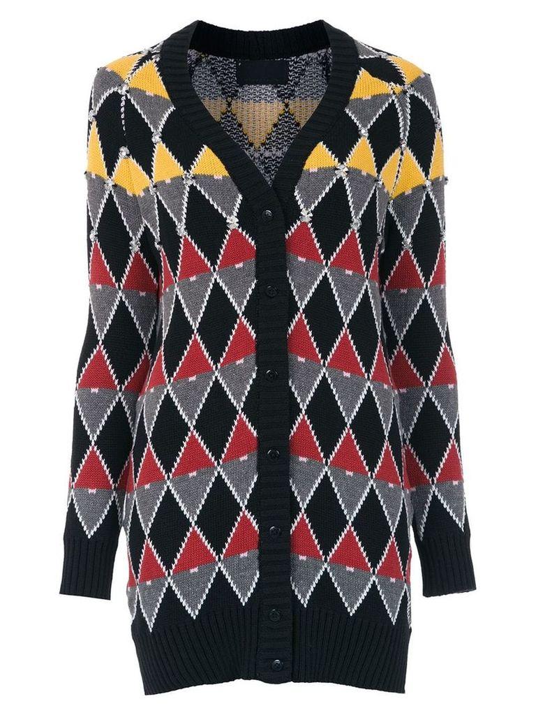 Andrea Bogosian knitted cardicoat - Black
