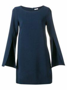 P.A.R.O.S.H. longsleeved shift dress - Blue