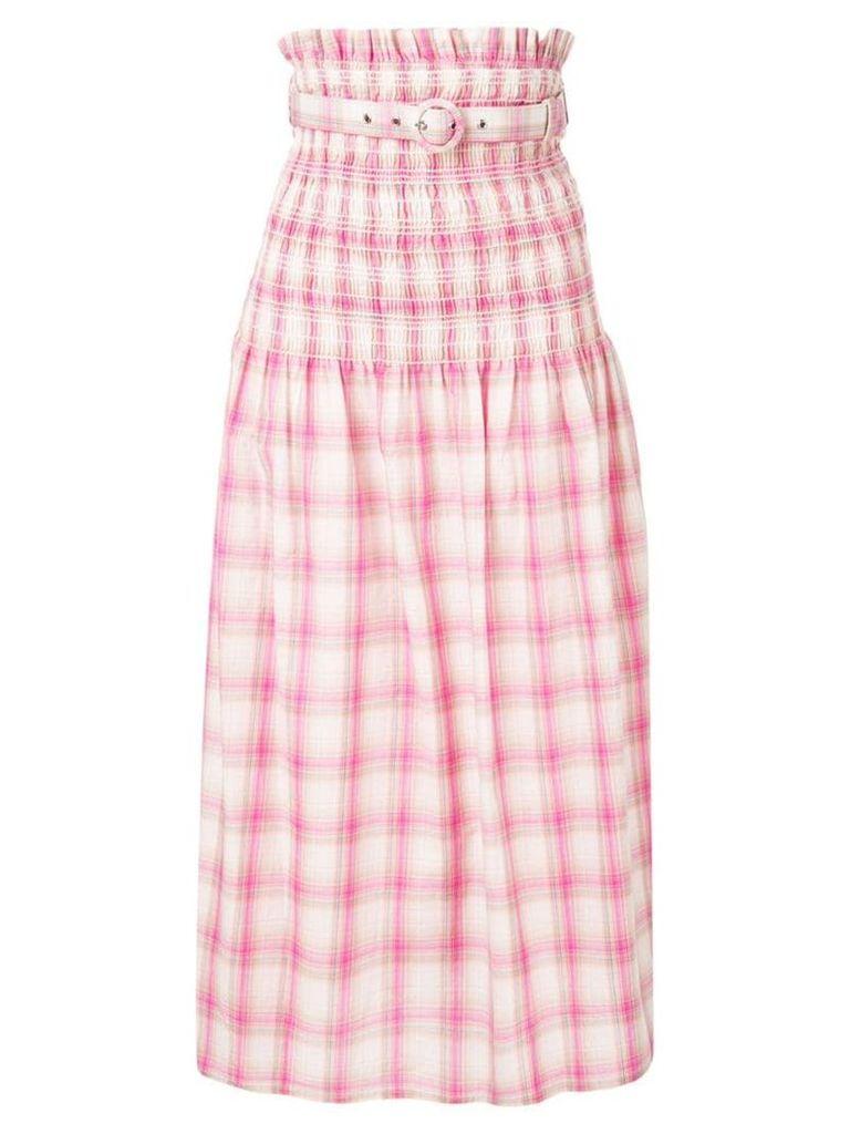 Nicholas smocked skirt - Pink
