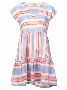Lemlem Fiesta striped mini dress - Pink