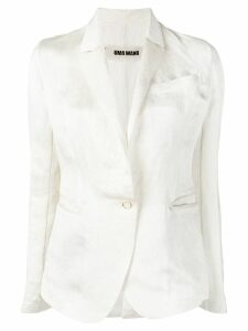 Uma Wang slim-fit blazer - Neutrals