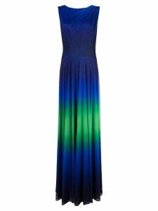 Tadashi Shoji ombré evening dress - Blue